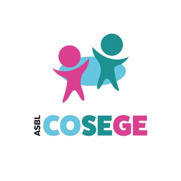 Cosege - Coordination des services d'accueil d'enfants de la fédération Wallonie - Logo